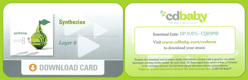 Syntheziax-Download-Card-@-CDBaby.com
